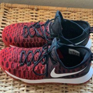 Nike KD 9 University Red Size 11